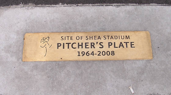 Shea's Pitching rubber